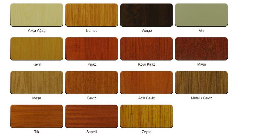 Doğal Ağaç Kaplama Renkleri - 1