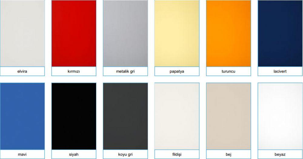 Renk Kartelası -7